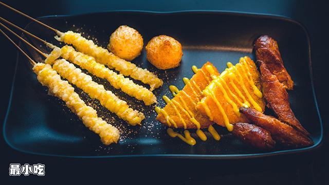 平顶山小路里的美食——跨界小哥的风格炸串,吃起来究竟是哪样?插图