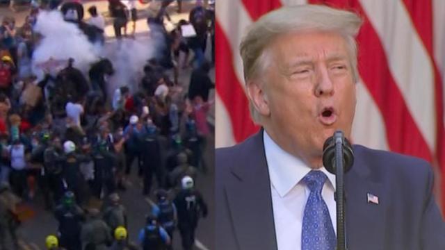 听完特朗普黑人之死演讲,CNN主播:美国在独裁统治下摇摇欲坠【www.smxdc.net】 全球新闻风头榜 第2张