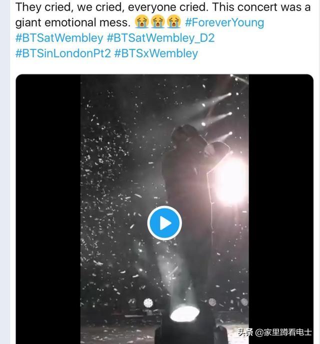 BTS防彈少年團巡演舞台現驚喜,成員與粉絲集體落淚,場面感人