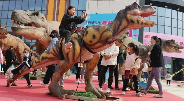 禹州宏基雅苑大型侏罗纪恐龙展空降禹州,门票免费送!