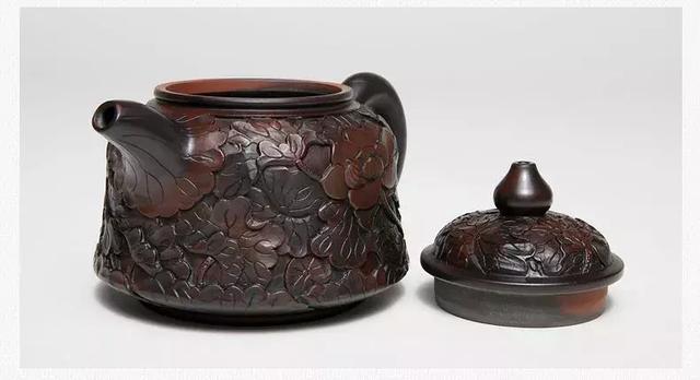 紫陶说|建水紫陶常见的装饰工艺详解 紫陶特点-第7张