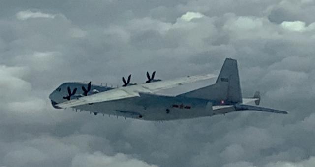 台媒:解放军军机一早再巡台,本月已20次进入台湾西南空域