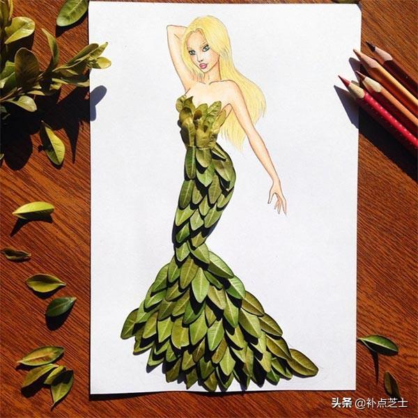 俯拾皆是服饰的灵感,与日常用品完美结合的时尚服饰拼贴艺术-第13张