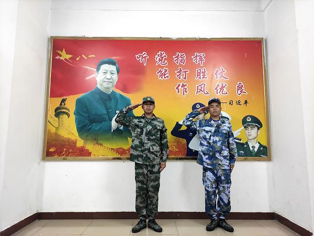 广东省紫金县:绿色军营抛出橄榄枝,孪生兄弟应征齐入伍-第1张