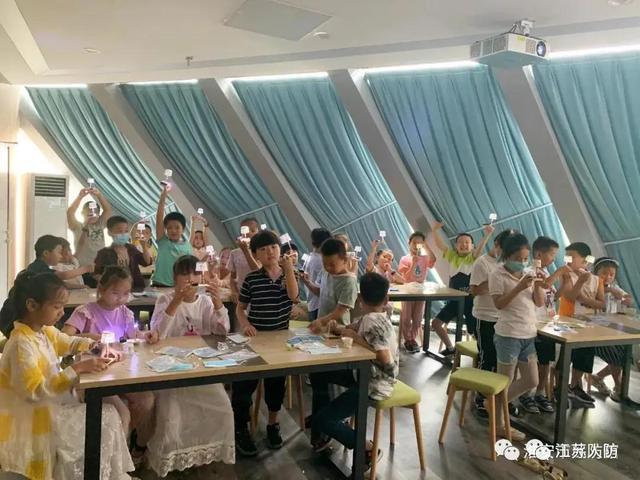 科普宣传周,淮安市民防馆活动够精彩!