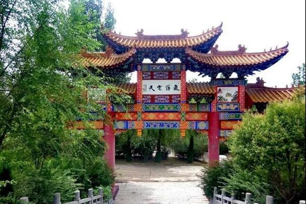 薄姬庙,洛阳散文学会作家采风新安金斗山