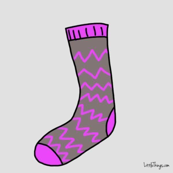 「心理测试」选择一款你喜欢的袜子,了解你的性格特质-第7张