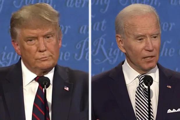 """美首场总统辩论特朗普总打断拜登,拜登忍不住说""""你能闭嘴吗""""【www.smxdc.net】 全球新闻风头榜 第1张"""