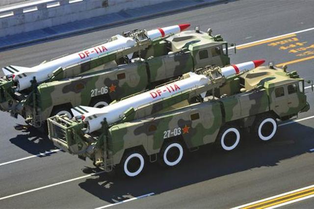 """威慑""""台独"""",10枚东风导弹震撼齐射-第1张"""