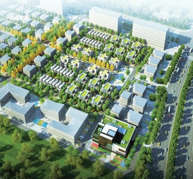 未来的绿色建筑落地鹰城!平顶山这座科技园一期规划公示插图2