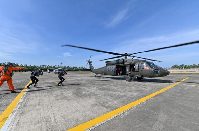 台军罕见公布海空联合特战训练画面,称意在建立海上快速支持能力-第3张