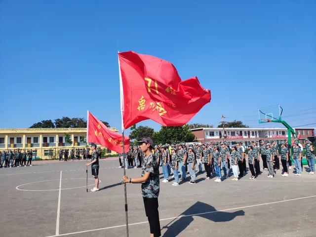 """禹州南区学校军训纪实!2020级新生的""""蜕变"""""""