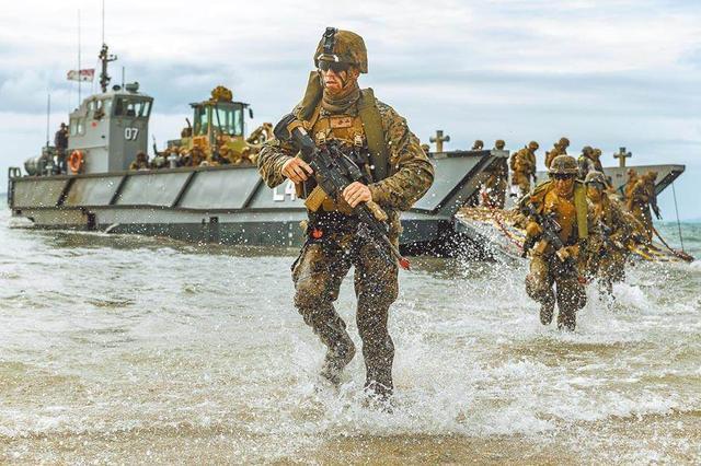 台媒:美国海军陆战队真的来台湾了,台海军总部已证实