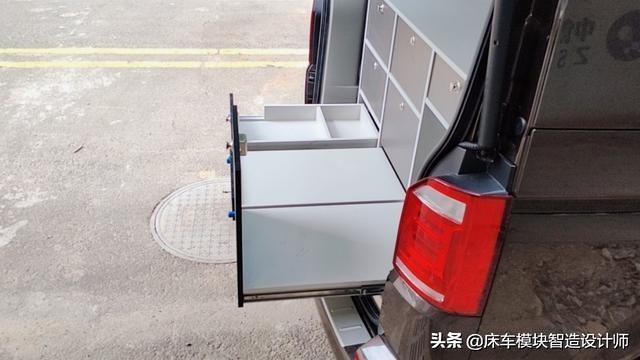 網紅旅居露營床車來到中國,這款床車組合模塊你喜歡嗎?