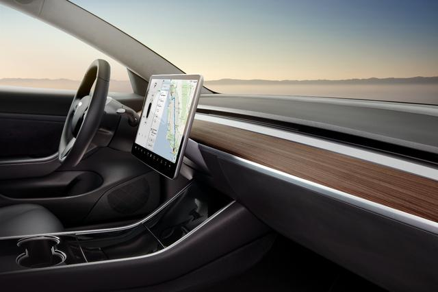 深度探究Model 3内饰设计哲学