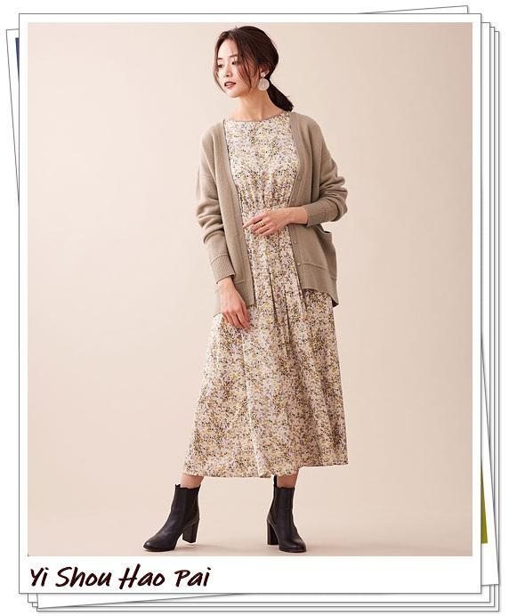 米色开衫的秋季搭配精选!24种你值得尝试的优雅穿搭-第23张