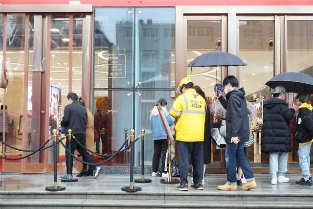 西安skp楼层图,实探:西安商场恢复营业第1天,我被虐惨了......