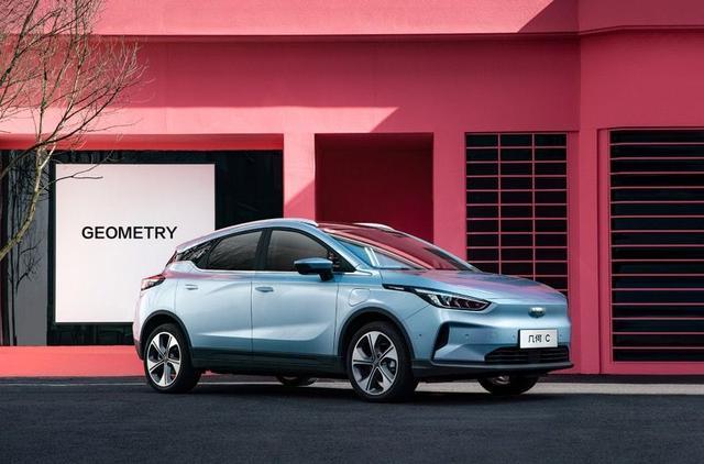 几何汽车首款纯电SUV几何C上市,补贴后12.98万元起售