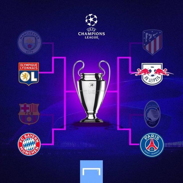 欧冠半决赛对阵出炉:里昂对决拜仁,莱比锡vs巴黎www.smxdc.net