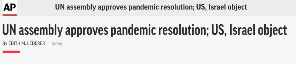 联合国大会通过新冠疫情决议:169国赞同,美国反对【www.smxdc.net】