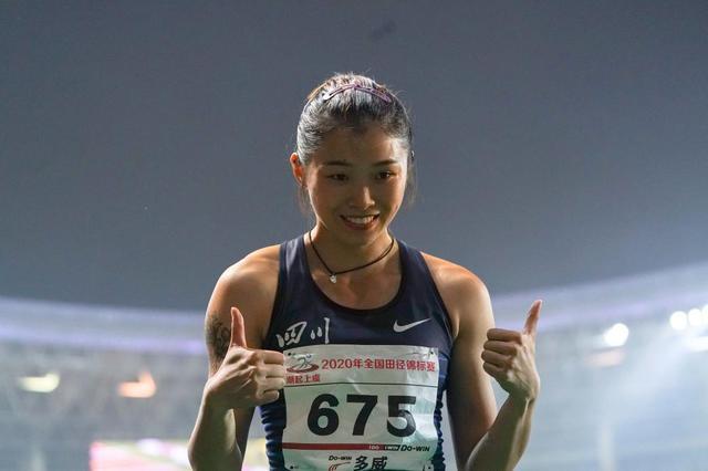 女子100米栏:吴艳妮夺冠比心-第2张