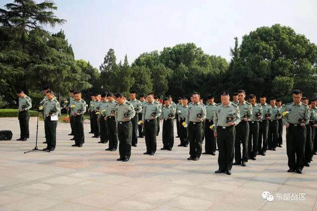 烈士纪念日,东部战区官兵这样致敬英雄-第7张