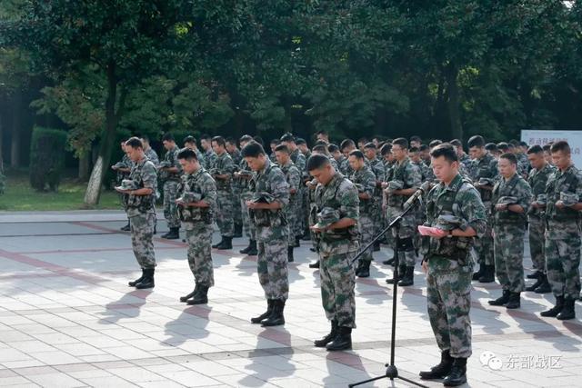 烈士纪念日,东部战区官兵这样致敬英雄-第10张