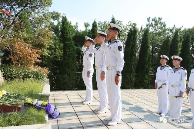 烈士纪念日,东部战区官兵这样致敬英雄-第18张