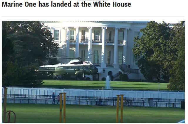 快讯!美媒:特朗普将前往军事医院接受进一步治疗【www.smxdc.net】 全球新闻风头榜 第2张