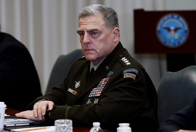 曾与新冠肺炎确诊患者接触 美军最高将领马克·米尔利正在隔离 等待检测结果【www.smxdc.net】