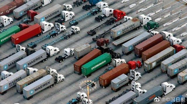 美国零售商进口备货 导致港口拥堵