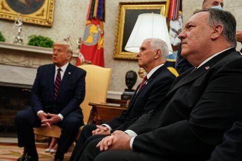 美媒:特朗普有意打击伊朗核基地 彭斯蓬佩奥劝阻