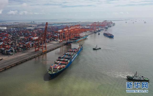 广西钦州港集装箱吞吐量增势迅猛