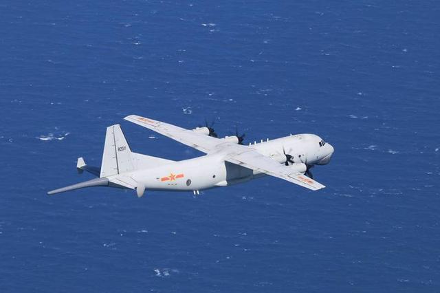 中国人民解放军军机早上两次进到中国台湾西北航线