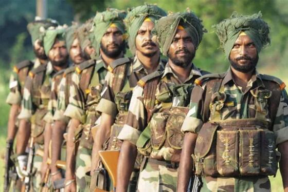 别的国家士兵都戴头盔,为何只有印士兵裹头巾?不怕被爆头吗-第4张
