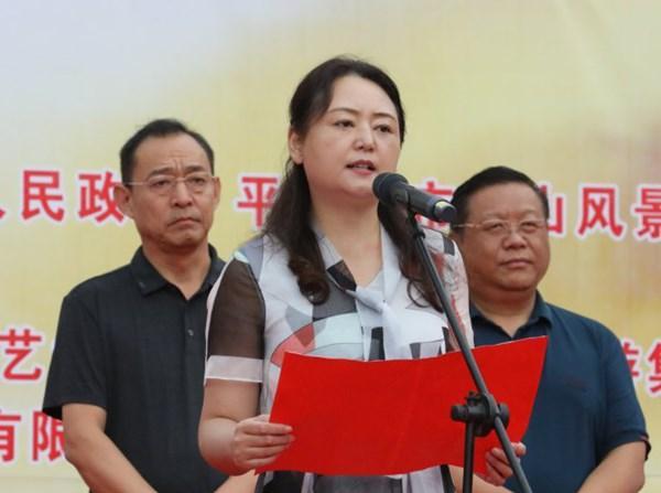 """鲁山展开""""万人游尧山 庆丰产迎国庆""""运动插图1"""