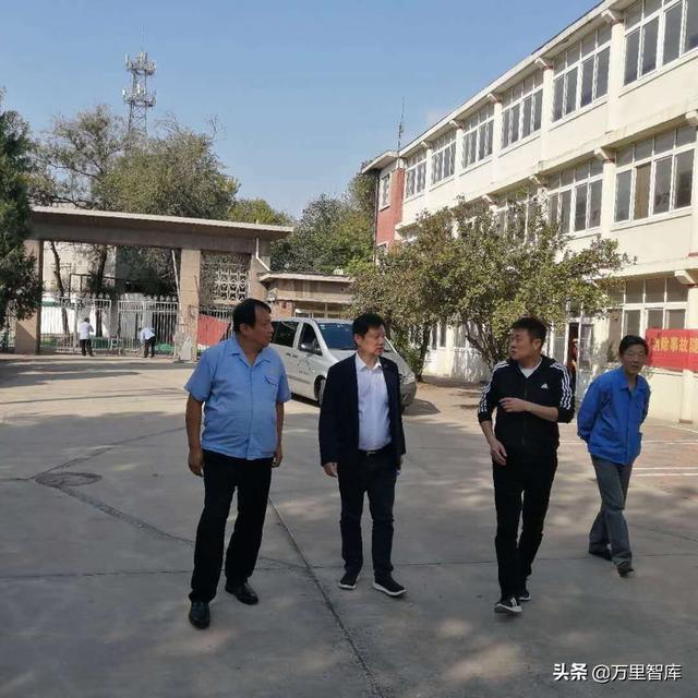 万里智库秘书长赵悦考察天津河东区老厂房园区改造项目情况