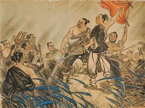 陈胜吴广起义,陈胜吴广起义,陈胜称王后是怎样对待吴广的?