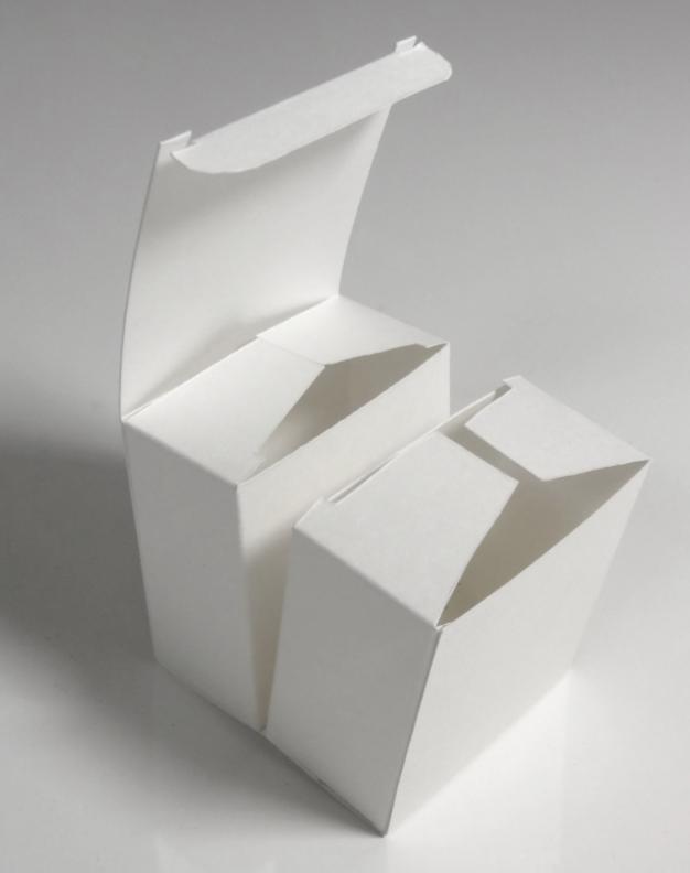 包装纸盒结构类型之——间壁结构,盒底结构和锁口结构(图1)