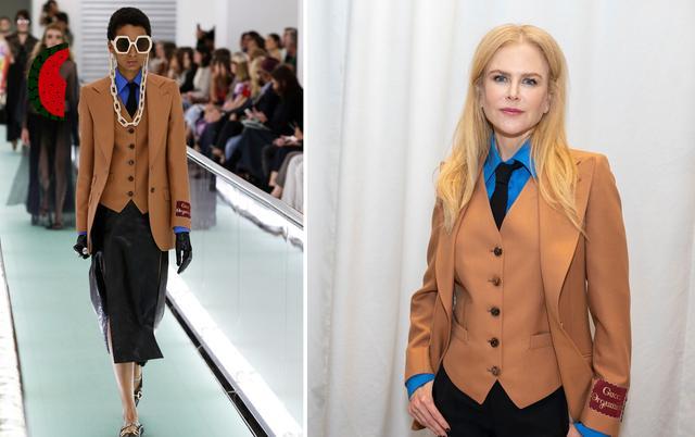 女性也可以帅气又潇洒,英伦三件套复古时尚,秋季这么穿太新潮-第6张