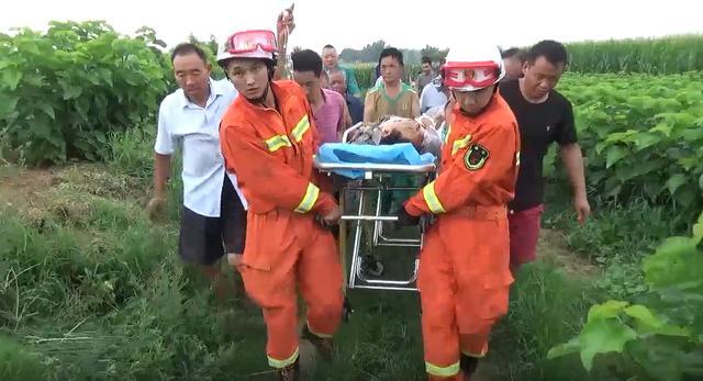 河南平顶山:农机吃人 消防胜利救援插图1
