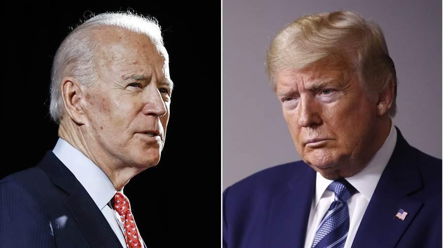 【一个美国,两个总统】