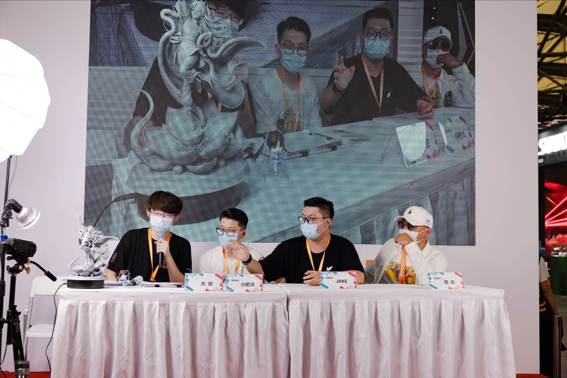 WF2020上海-GoodSmile展台精彩回顾,1比1等身赵灵儿惊艳全场 业界信息 第21张