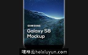 三星旗舰手机样机模板 Samsung Galaxy S8 Mockup (PSD)