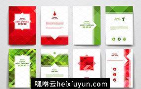 圣诞节主题小册子模板Merry-Christmas-Brochures #799627
