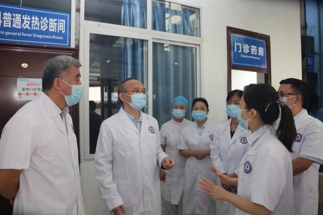 国务院疫情防控专项督查组专家来院指导疫情常态化防控工作