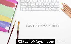 办公场景艺术样机模板 Styled-Stock-Photo-Art-Mockup