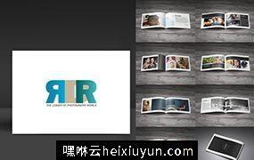 摄影手册模版Photography Brochure #331836