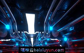 [26-05-18]—Falcon-(Still)机械室 C4D动画工程文件分享