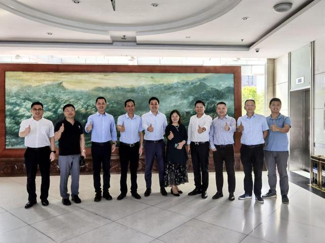 重庆永川构建智慧交通新生态 觉非科技CEO李东旻一行到访调研
